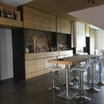 Arredamento sala degustazione Cantina Dionigi - Bevagna (Pg)