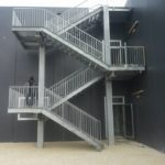 Scala di sicurezza presso Palestra - Bastia Umbra (Pg)
