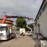 Tettoia a sbalzo presso Grifovet Srl - Ponte San Giovanni (Pg)