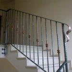 Ringhiere in ferro presso abitazione privata