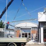 Struttura metallica zincata a caldo - Cliente SOGEDIL - Firenze