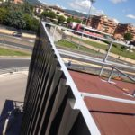 Struttura per rivestimento decorativo capannone Terranova - Bastia Umbra (Pg)
