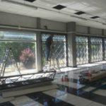 Inferriate di sicurezza presso negozio Manzetti White Couture - Foligno (Pg)
